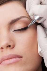 Dermopigmentation des yeux