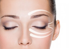 Peeling professionnel des yeux